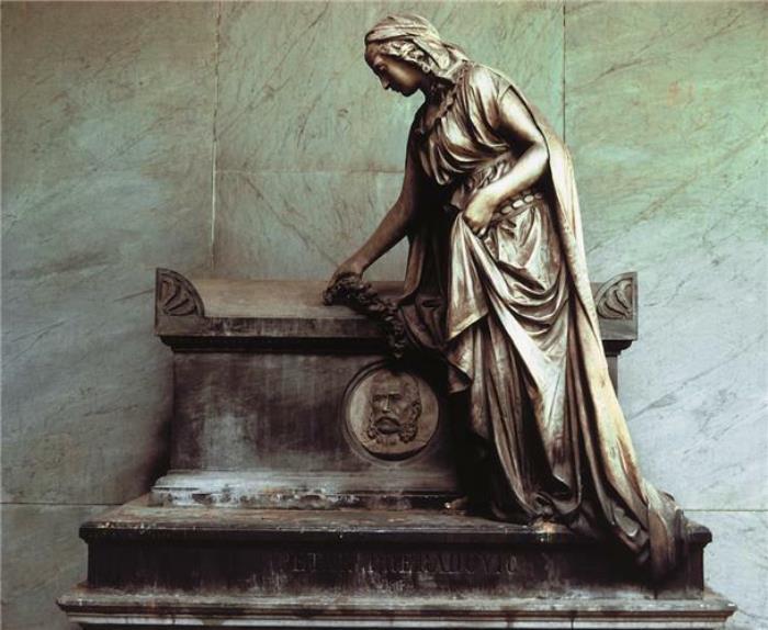 Nadgrobni Spomenik Petra Preradovica