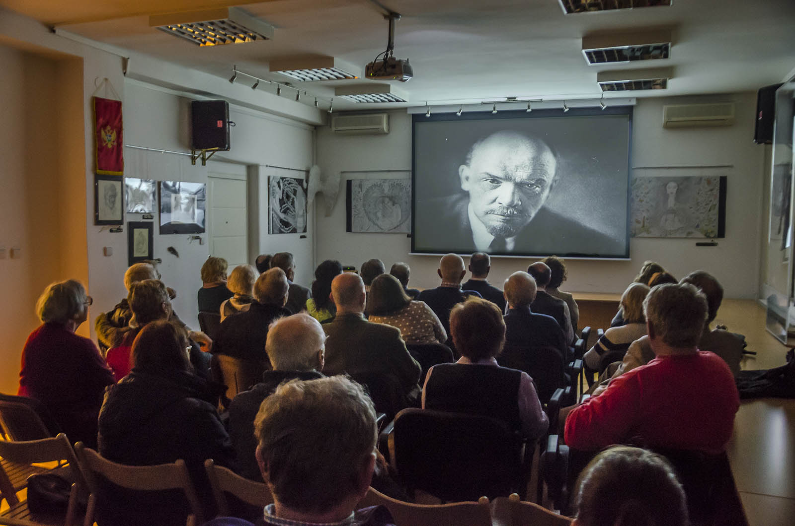 Projekcija Filma U Klubu Crnogoraca 6