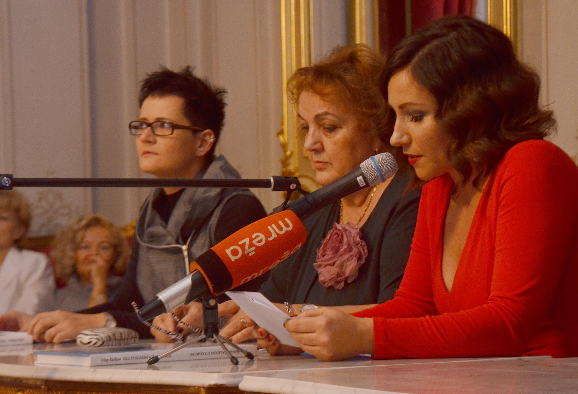 Promocija Knjige,- Talijani U Zagrebu (2)