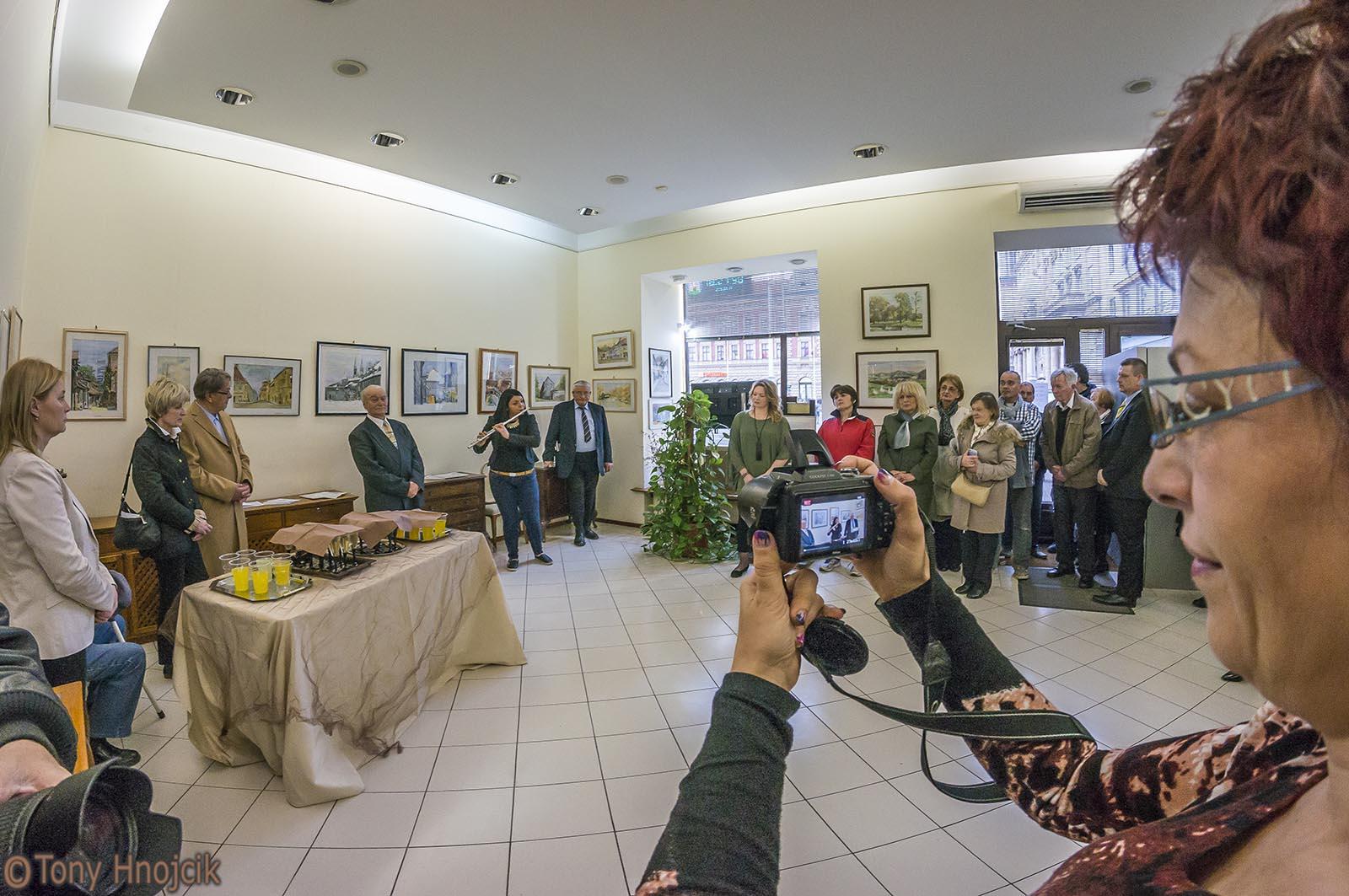 Sa Izlozbe Slika Stari Zagreb I Hrvatski Krajolici Dr Nikole Grozdanovskog - Kolea (18)
