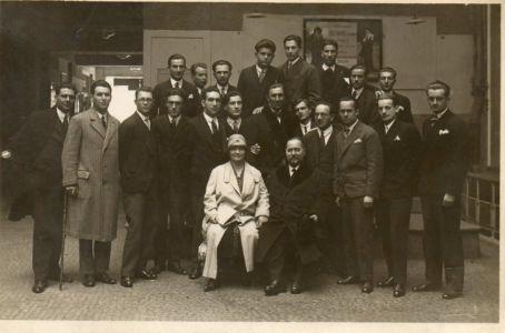 01.travnja 1928. Odbor Akad.kluba Matija Gubec U Pragu Sa S.R. I M.R.