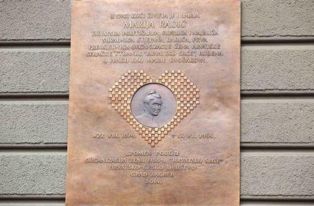 Sveèanost otkrivanja spomen-ploèe u èast Marije Radiæ