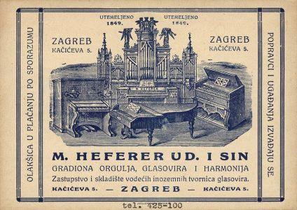 Otvorena izložba posveæena orguljama Heferer