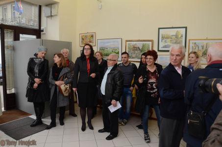 Sa Izlozbe Slika Stari Zagreb I Hrvatski Krajolici Dr Nikole Grozdanovskog - Kolea (12)