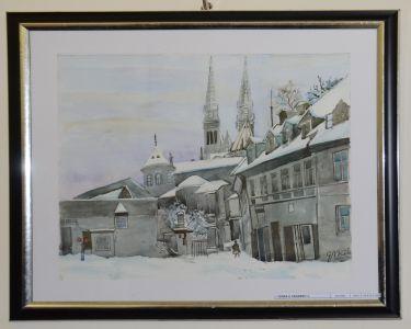 Sa Izlozbe Slika Stari Zagreb I Hrvatski Krajolici Dr Nikole Grozdanovskog - Kolea (1)