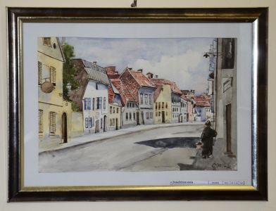 Sa Izlozbe Slika Stari Zagreb I Hrvatski Krajolici Dr Nikole Grozdanovskog - Kolea (6)